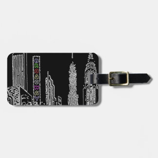Broadway Nights Luggage Tag