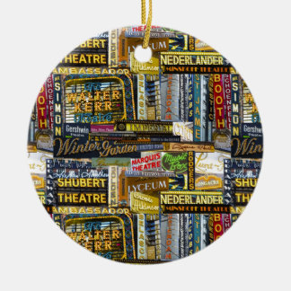 Broadway Ornament (Color)