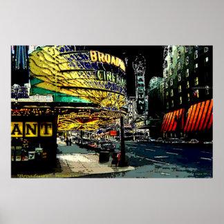Broadway - Print
