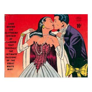 Broadway Romances Comic Book Postcard