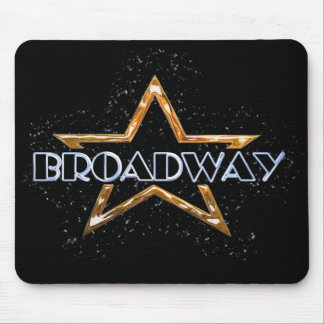 Broadway Star Mouse Pad