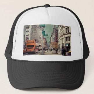 broadway trucker hat