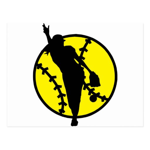 Broc du base-ball carte postale