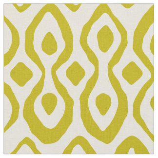 brocade chartreuse ivory fabric