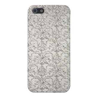 Brocade Damask Pattern iPhone 5 Cover