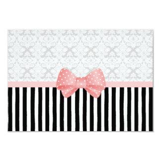 Brocade Dot Stripe Card