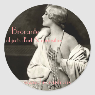 Brocante big sticker