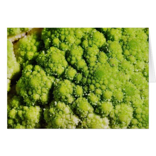 Brocco Flower Vegetable Card