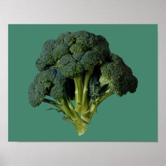 """Broccoli 14"""" x 11"""", Value Poster Paper (Matte)"""