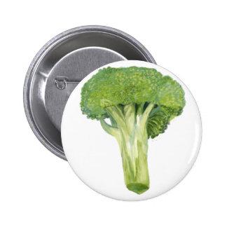 broccoli 2 inch round button