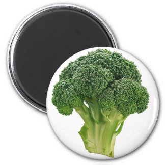Broccoli 2 Inch Round Magnet