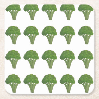 Broccoli coasters