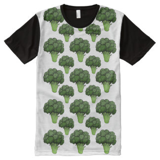 Broccoli Everywhere All-Over-Print T-Shirt
