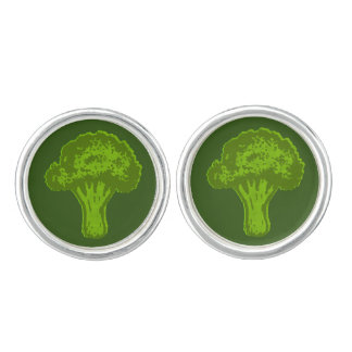 Broccoli Graphic Cufflinks