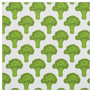 Broccoli Graphic Fabric