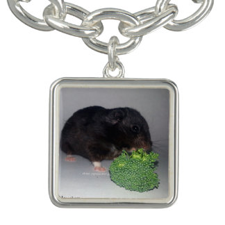 Broccoli is Healthy and Delicious Charm Bracelet