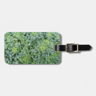 Broccoli Macro Custom Luggage Tag