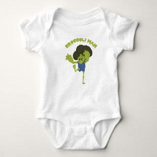 Broccoli Man Baby Bodysuit