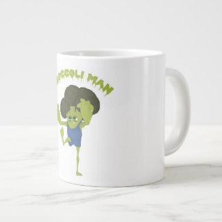 Broccoli Man Large Coffee Mug