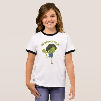 Broccoli Man Ringer T-Shirt