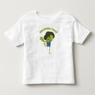 Broccoli Man Toddler T-shirt