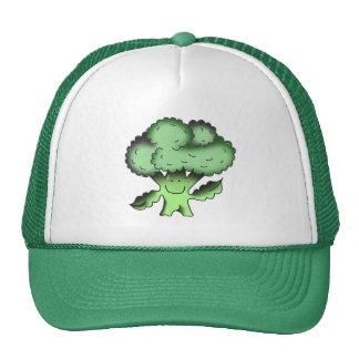 broccoli organic traditional vegan trucker hat