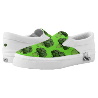 Broccoli Slip-On Sneakers