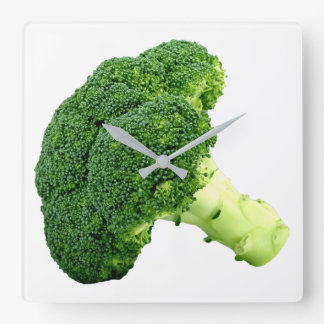 Broccoli Square Wall Clock