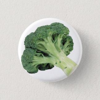 Broccoli Standard, 2¼ Inch Round Button