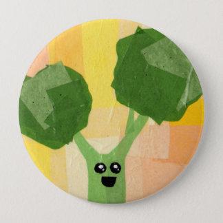 Broccoli! Vegeta-Button 4 Inch Round Button