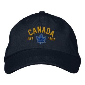 Broderie canadienne Canada d'anniversaire Casquettes De Baseball Brodées