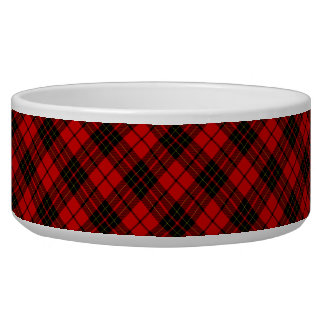 Brodie clan tartan red black plaid