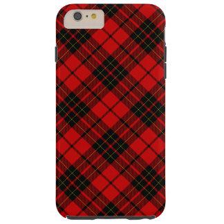 Brodie clan tartan red black plaid tough iPhone 6 plus case