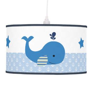 Brody Whale Nautical Baby Nursery Lamp