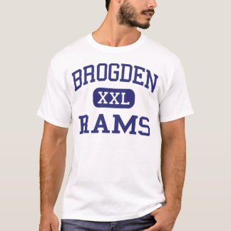 Brogden Rams Middle Dudley North Carolina T-Shirt
