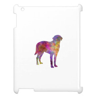 Broholmer in watercolor iPad cases