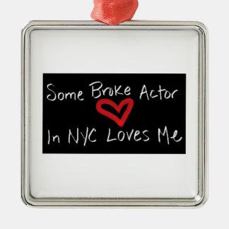 Broke Actor Ornament