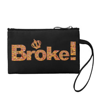 Broke coin purse