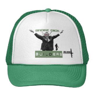 Broke Dick Builders Trucker Hat