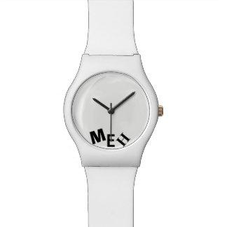 Broke White Monogrammed Watch