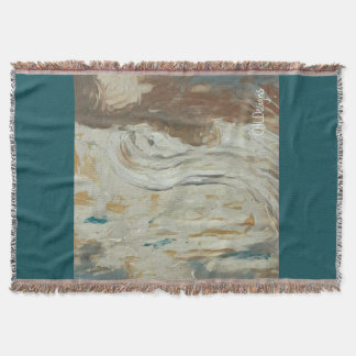 Broken Angel-Design 1- throw blanket