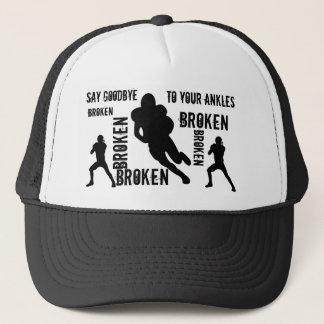 Broken ankles trucker hat