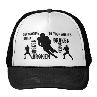 Broken ankles trucker hat