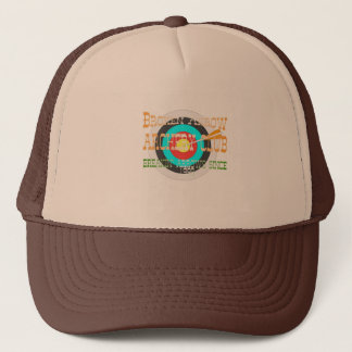 broken arrow archery trucker hat
