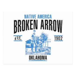Broken Arrow Postcard