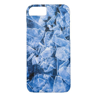 Broken blue ice iPhone 8/7 case