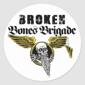 Broken Bones Brigade Sticker