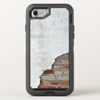 Broken brick wall OtterBox defender iPhone 7 case