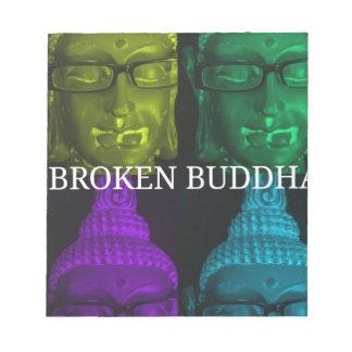 Broken buddha 4 square1 notepad