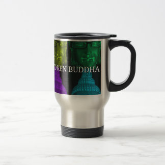 Broken buddha 4 square1 travel mug